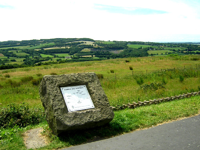 View Point at Parbold Hill - geograph.org.uk - 26841