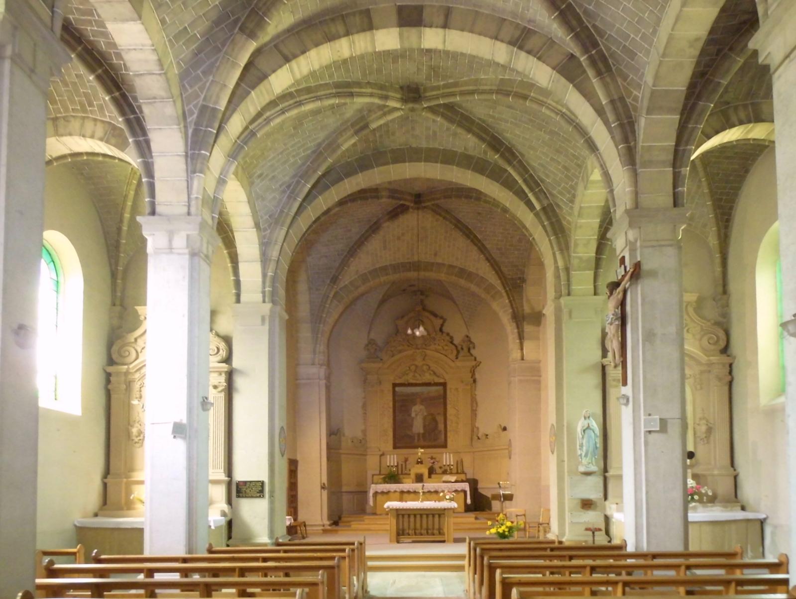 File villars l s blamont glise saint mam s l 39 int rieur for Interieur eglise