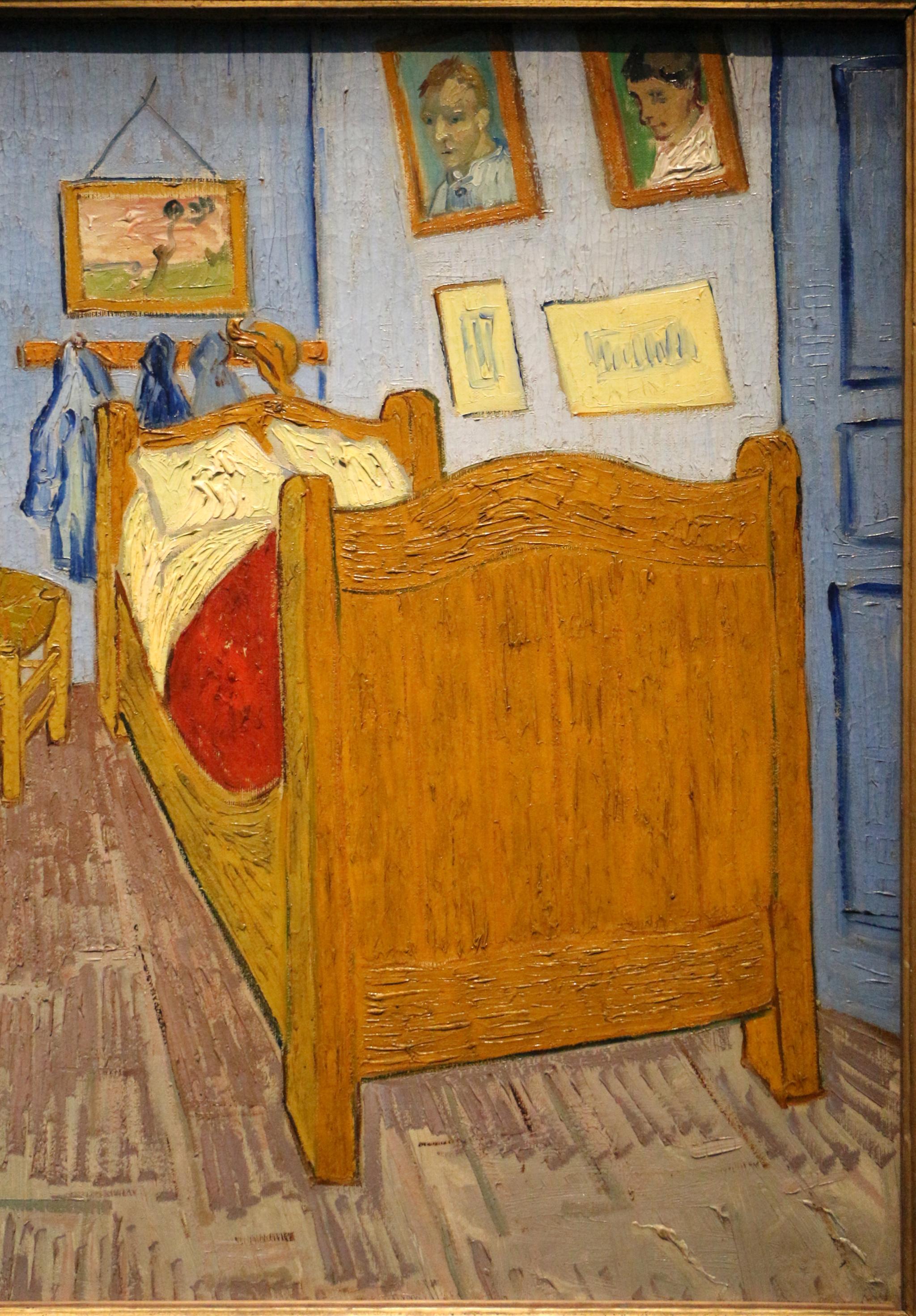 File Vincent Van Gogh La Stanza Di Van Gogh Ad Arles 1889 04 Jpg Wikimedia Commons