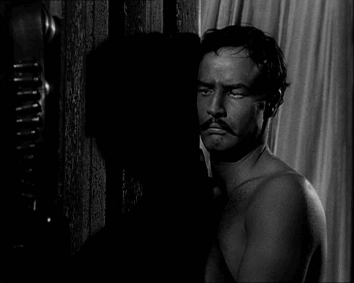 Marlon Brando Viva_Zapata_movie_trailer_screenshot_%2834%29
