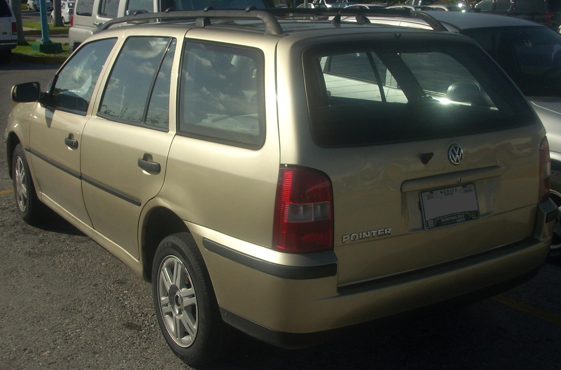File Volkswagen Pointer Wagon  Rear  Jpg