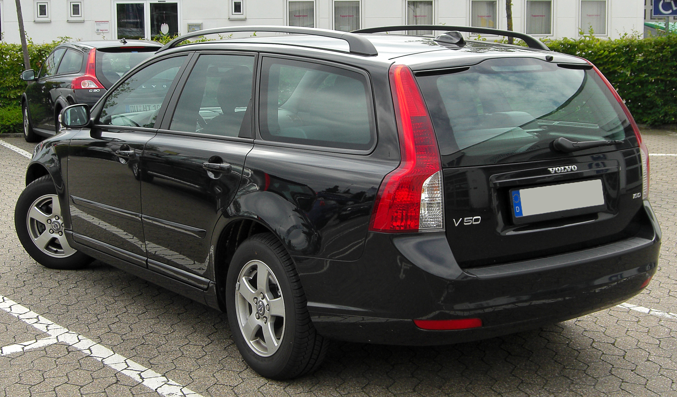 File Volvo V50 1 6 D Facelift Rear 20100731 Jpg