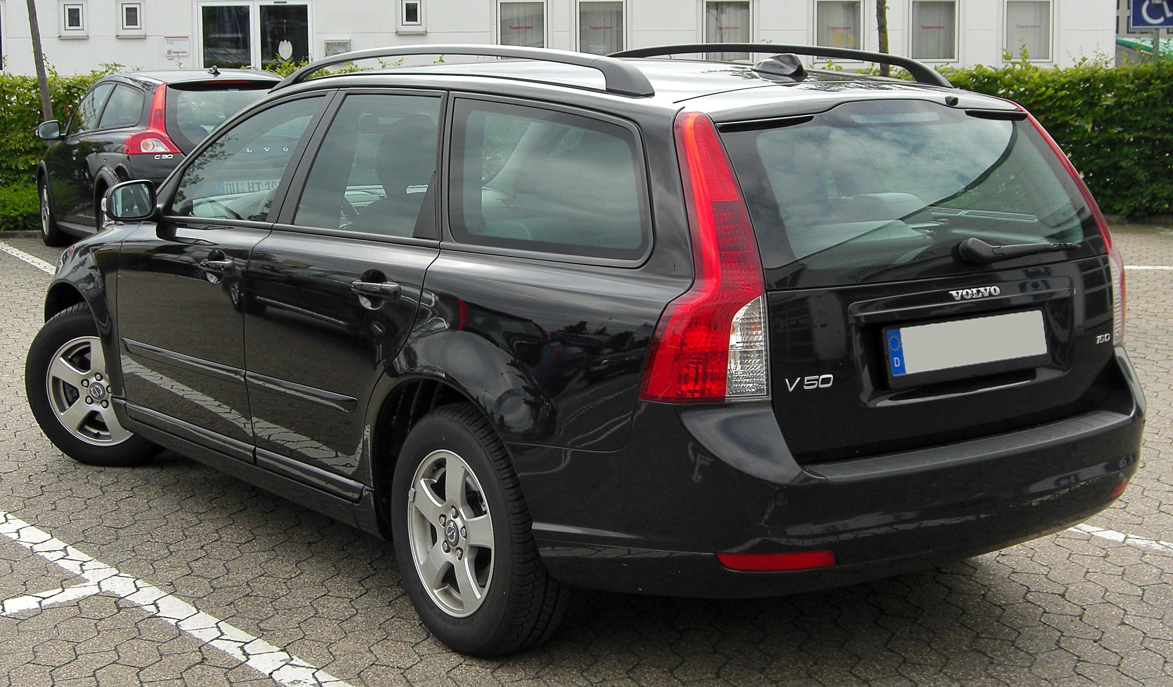 File Volvo V50 1 6 D Facelift Rear 20100731 Jpg