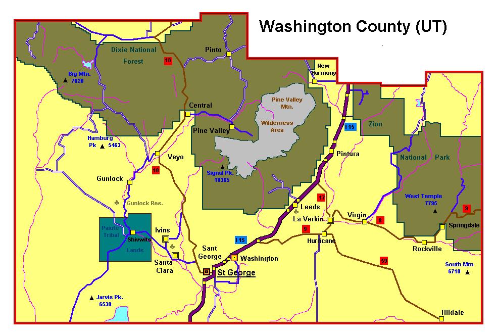Filewashingtoncounty Ut Wikimedia Mons: Washington County Maps At Slyspyder.com