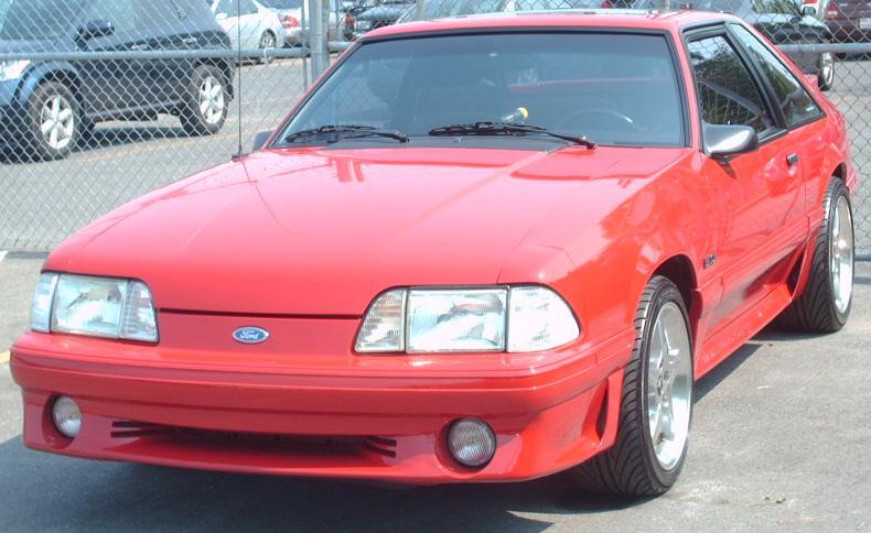 File 91 93 Ford Mustang 5 0 Hatchback Jpg Wikimedia