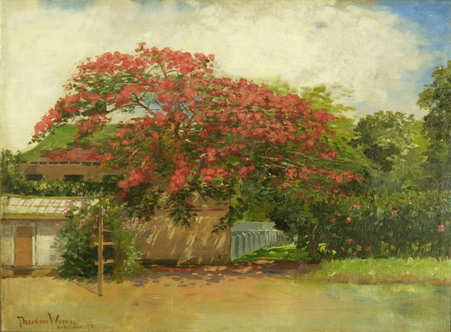 file 39 hawaiian house 39 oil on canvas painting by theodore