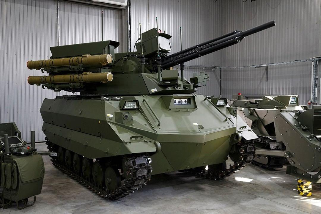 Russicher Panzer Uran-9