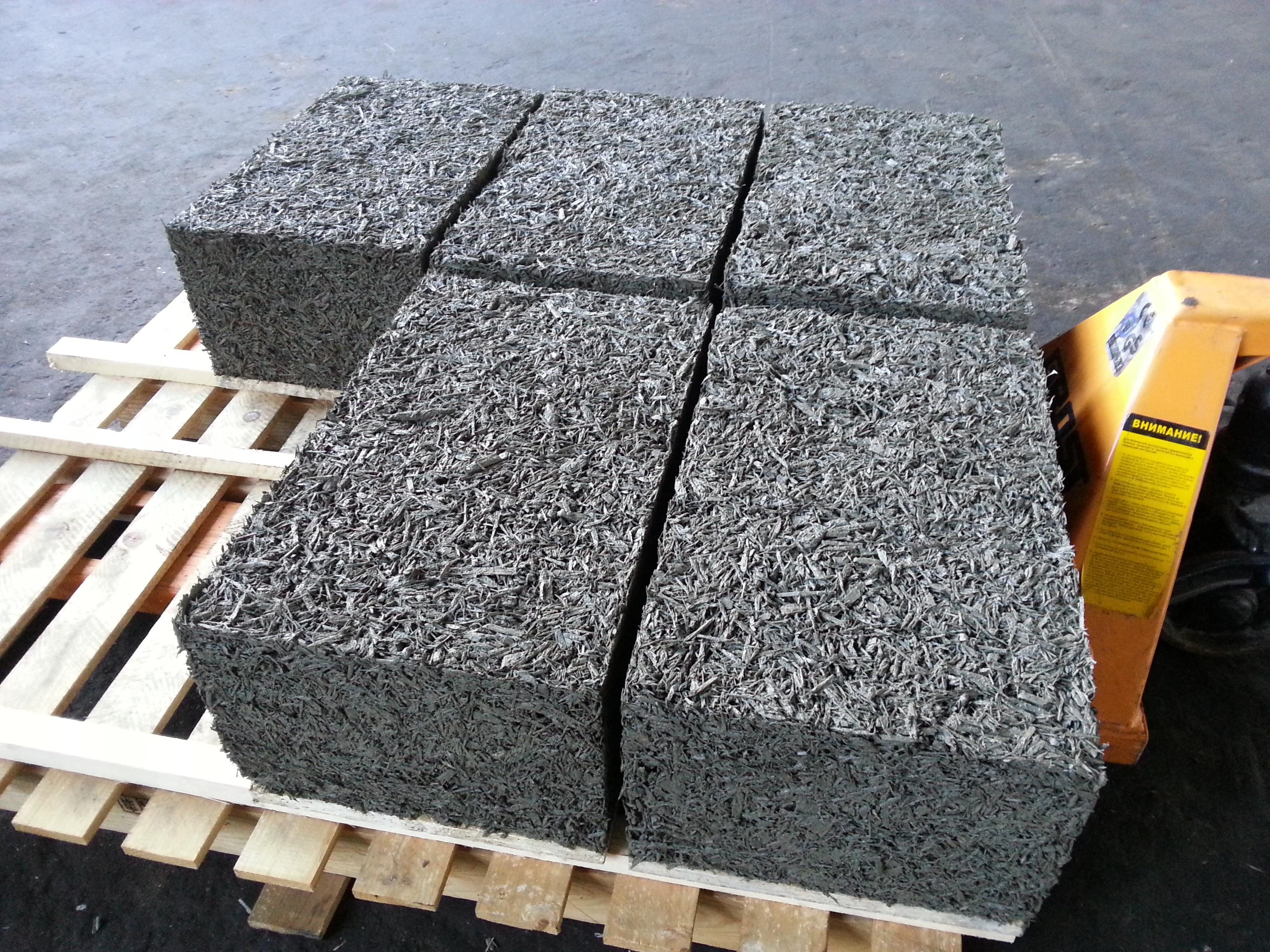 опилкобетонные блоки производство