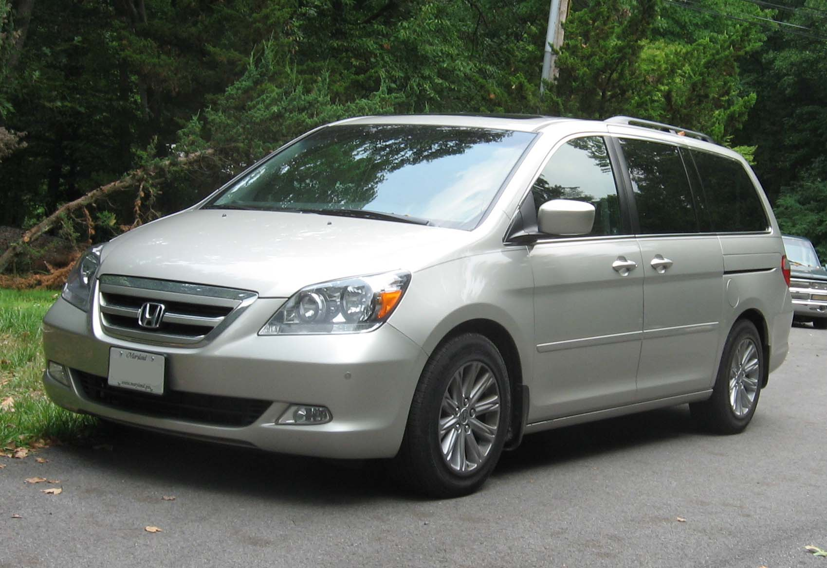 Honda Odyssey Touring Colors