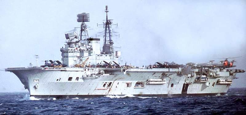 HMS Eagle (R05) - Wikipedia