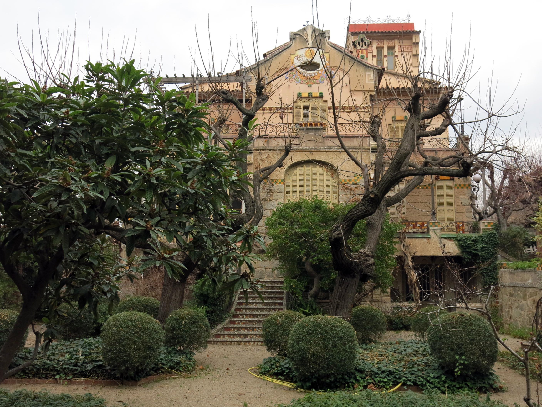 File 121 casa barbey fa ana sud i jard la garriga jpg wikimedia commons - Casa la garriga ...