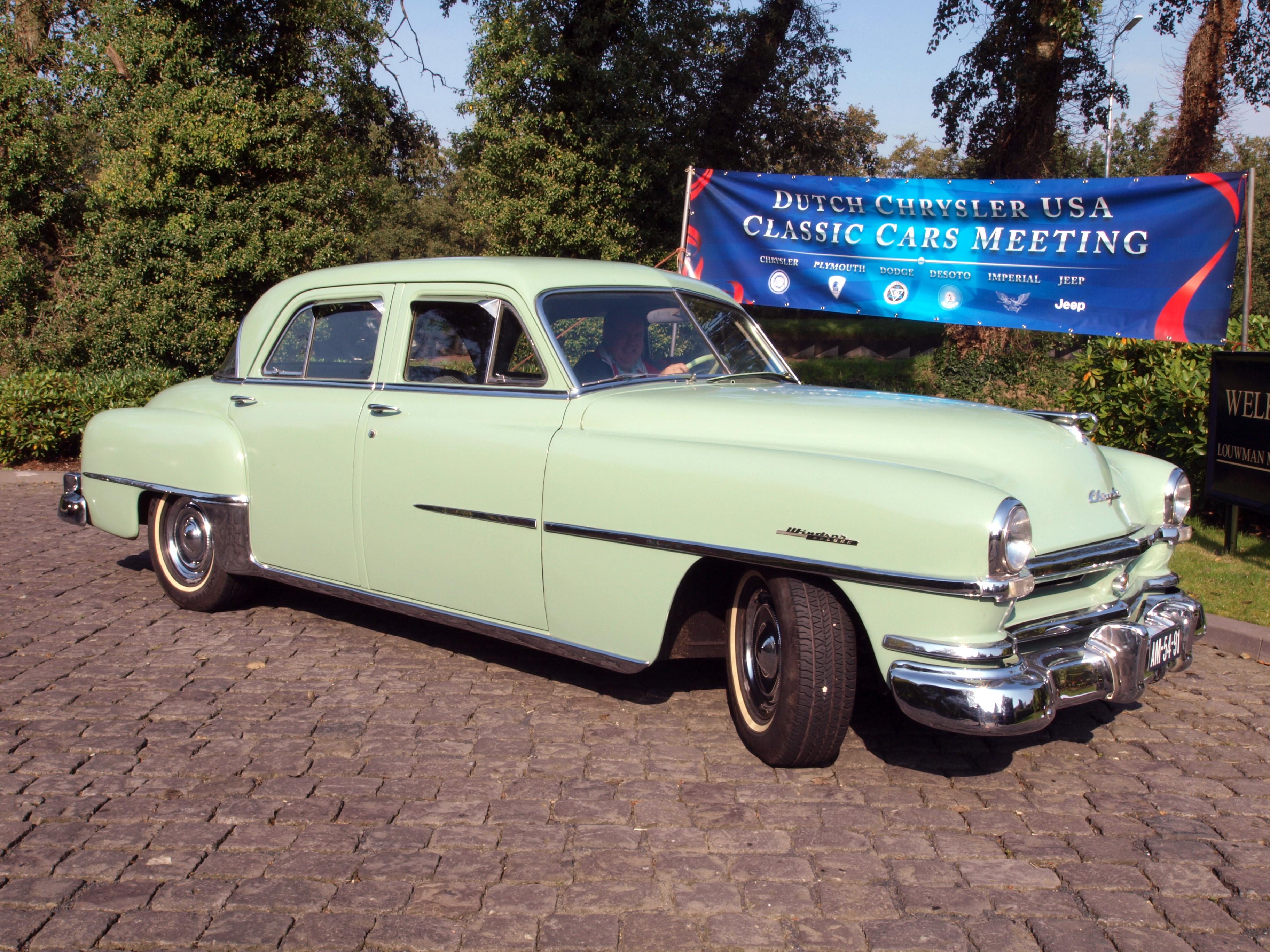 File 1951 Chrysler Windsor De Luxe Photo 8 Jpg Wikimedia