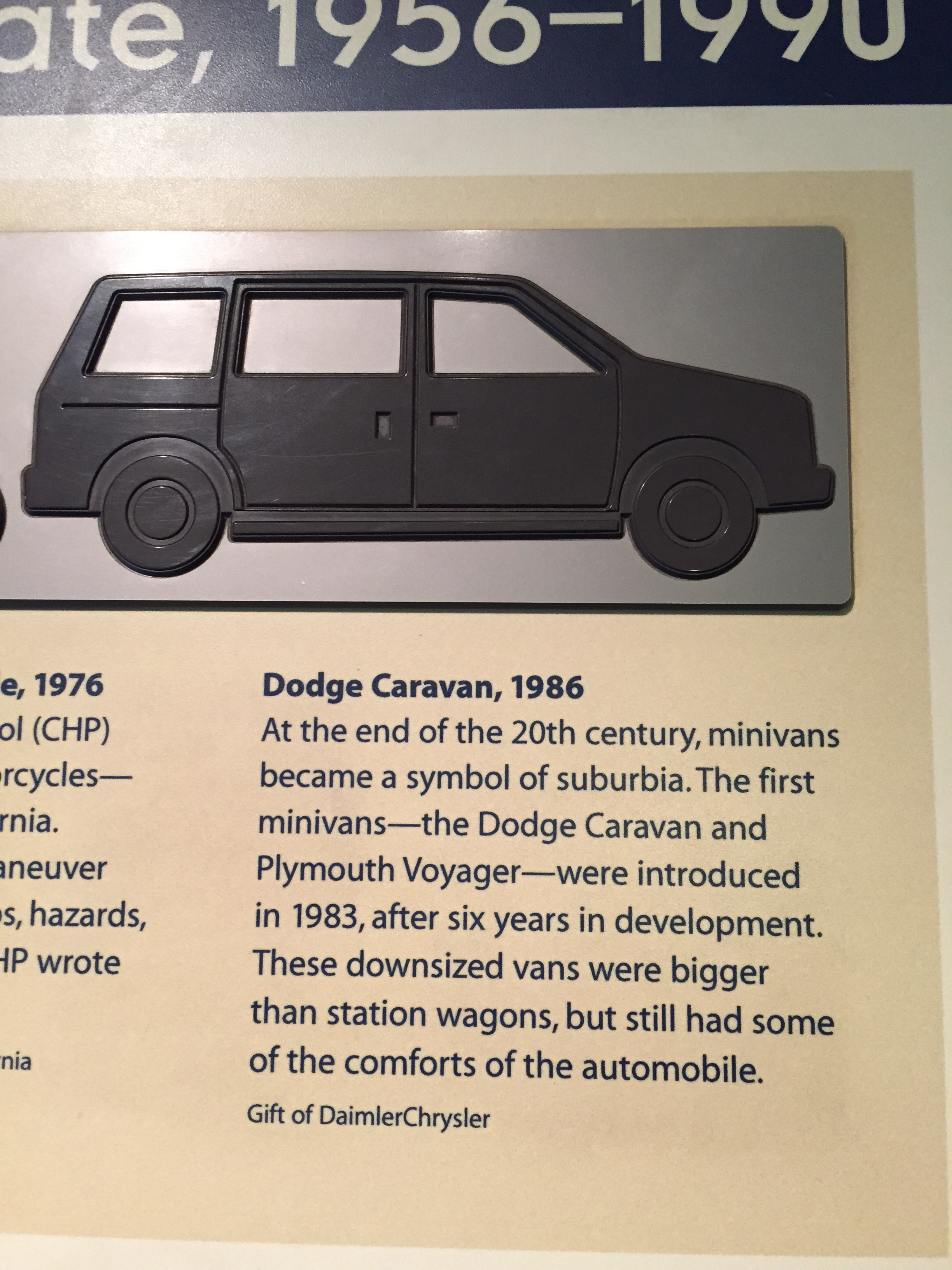 File 1986 Dodge Caravan Smithsonian National Museum Of American