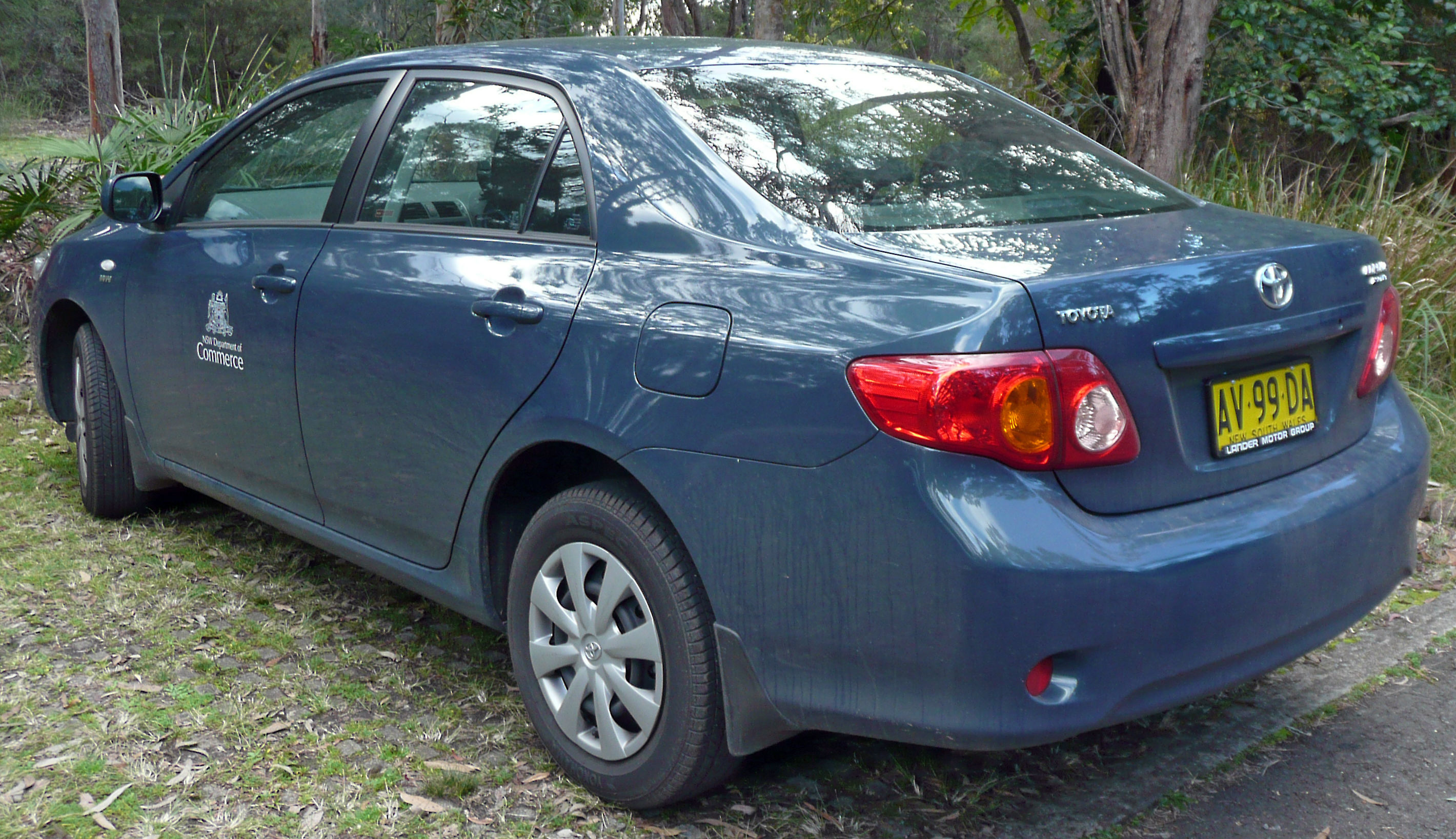 Light blue toyota corolla viewing gallery