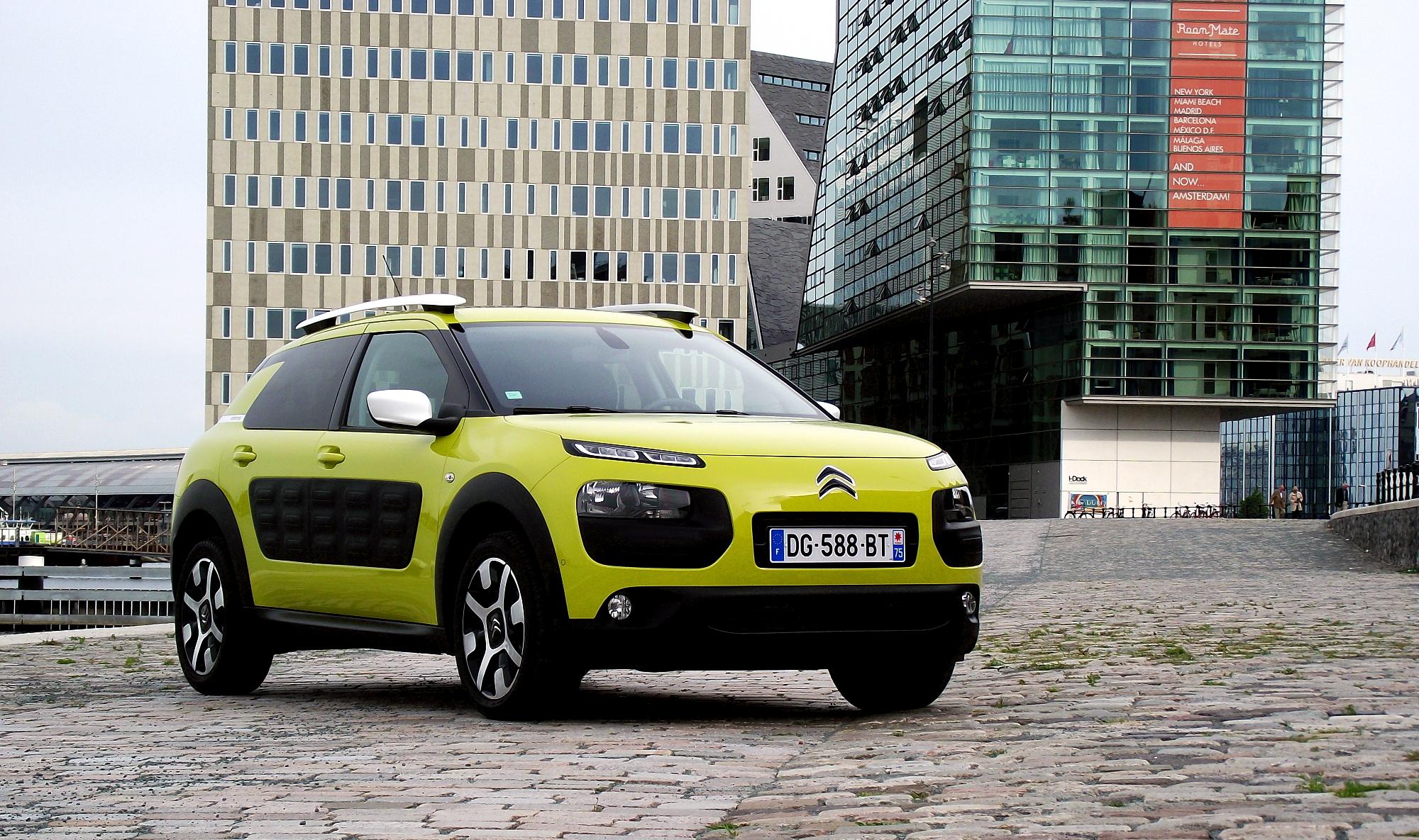 Citroen C4 Cactus Wiki >> File:2014 Citroën C4 Cactus Feel Edition PureTech e-THP 110 Vorderansicht Hello Yellow Amsterdam ...