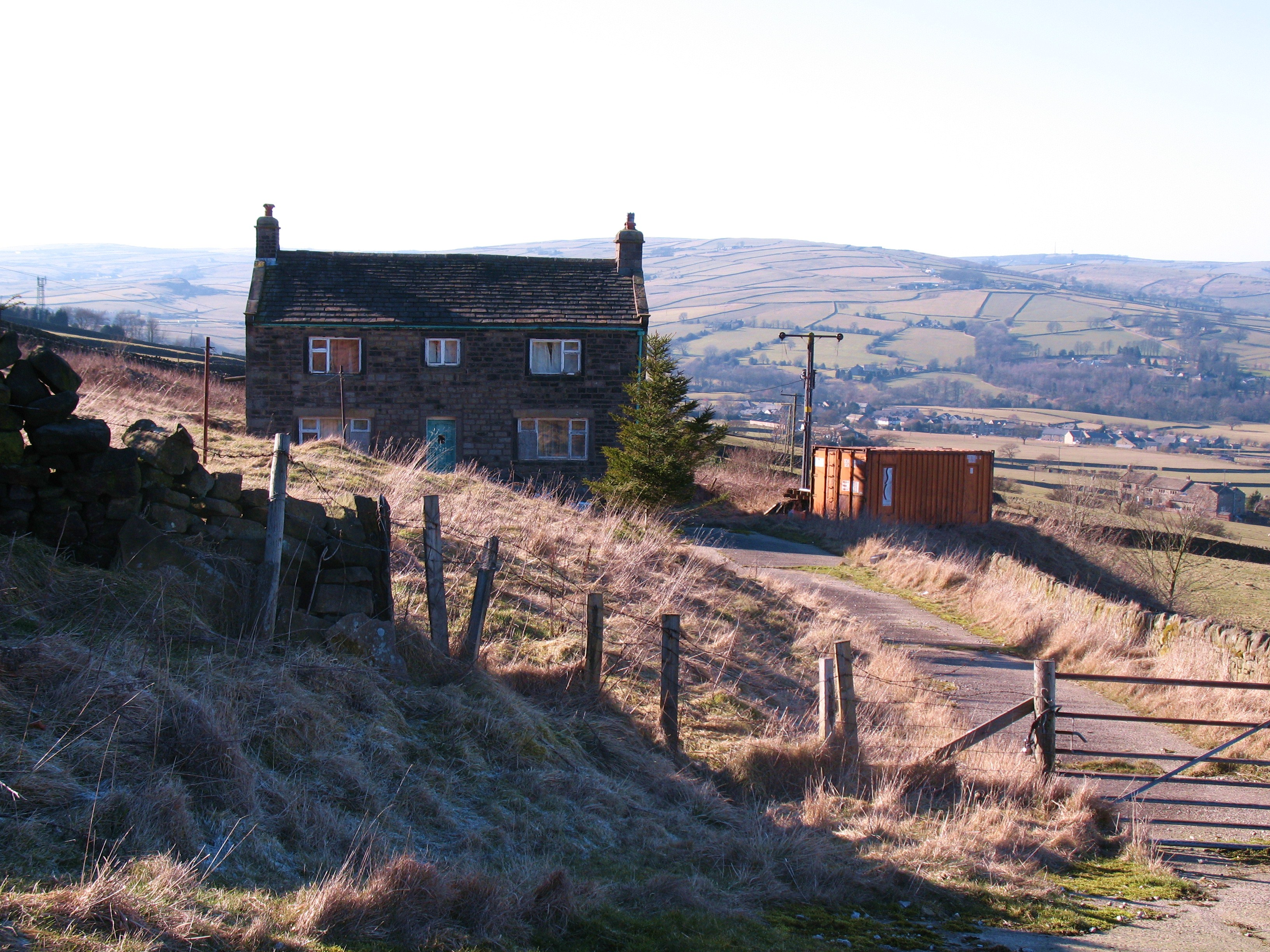 File:Abandoned farmhouse at Brush - geograph.org.uk ...