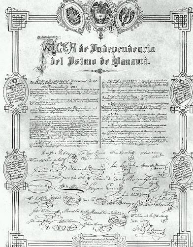 Independencia de Panamá - Wikipedia, la enciclopedia libre