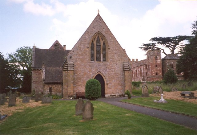 Acton Burnell Church and Castle - geograph.org.uk - 65848