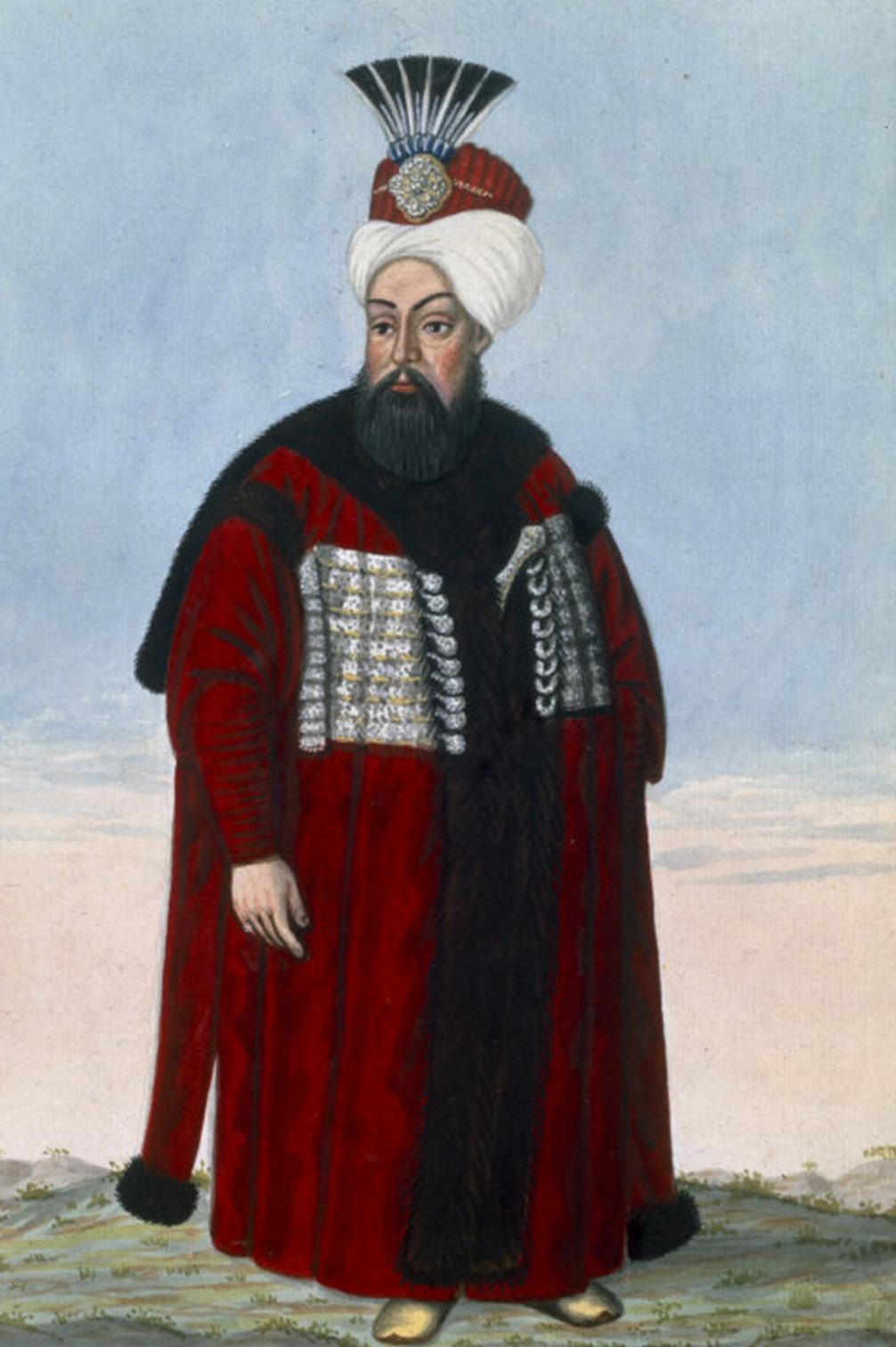 Depiction of Ahmed II