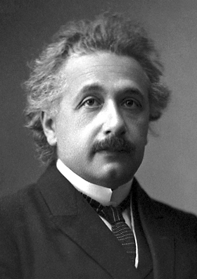Einstein's official portrait after receiving the 1921 Nobel Prize in Physics Albert Einstein (Nobel).png