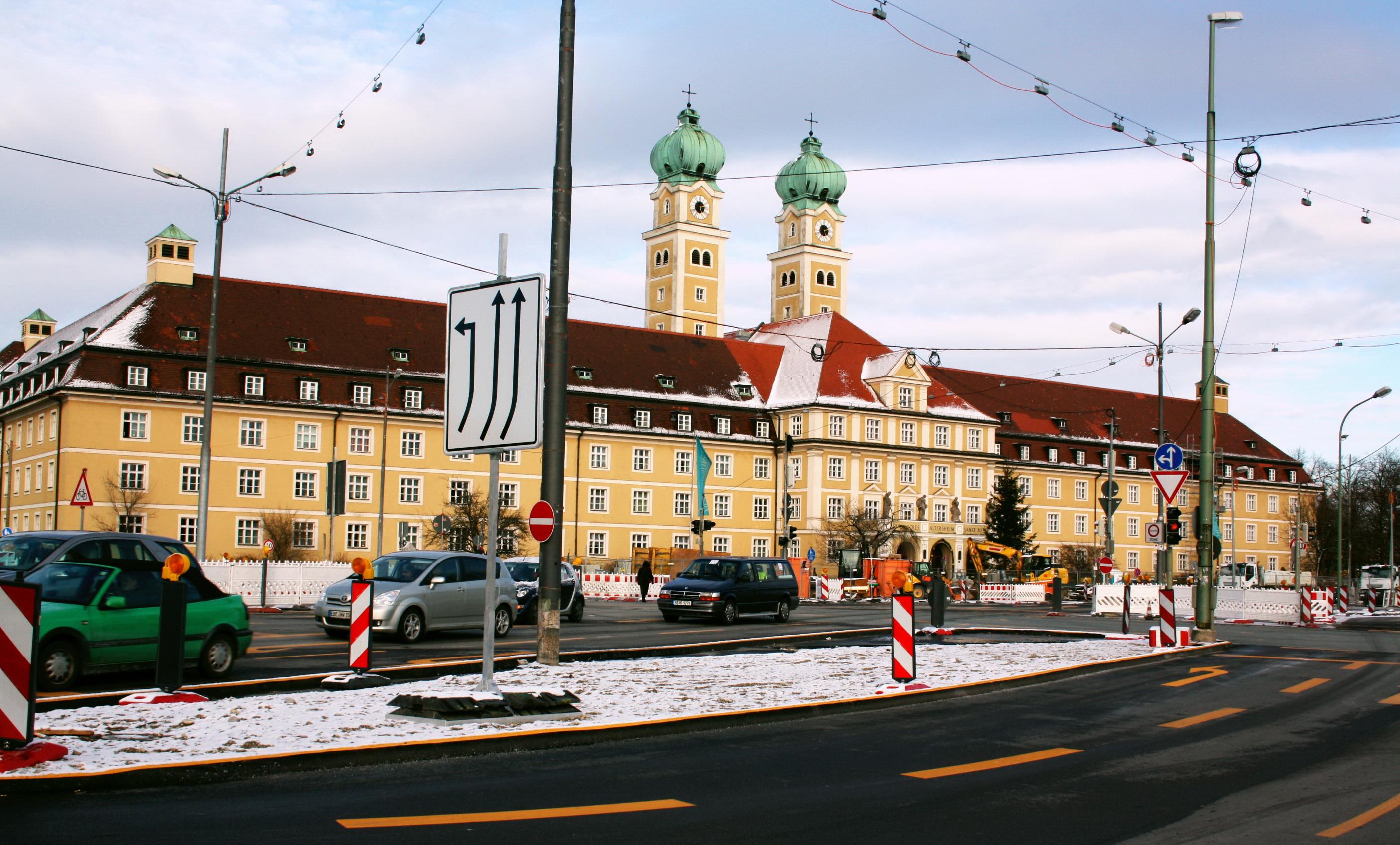 St Platz München file altenheim st josef am luise kiesselbach platz
