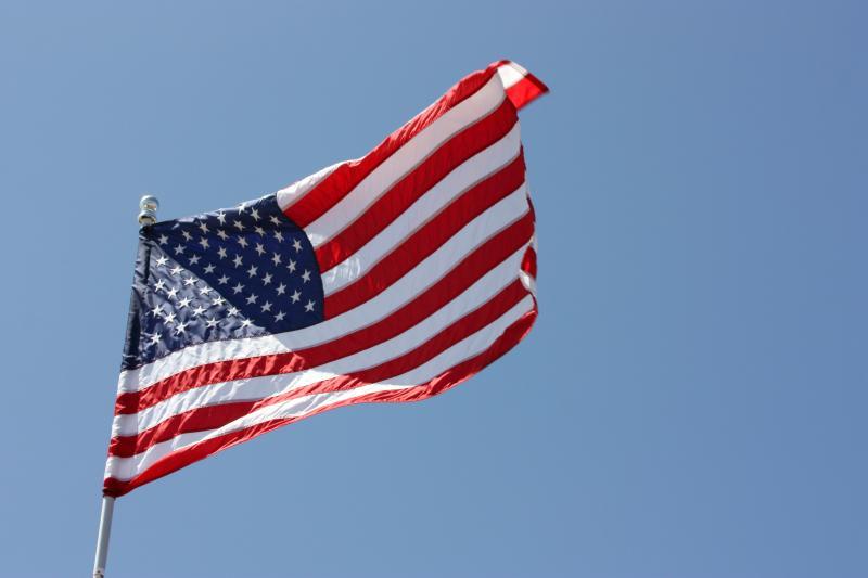 Полиция заставила жительницу Колдинга снять американский флаг, вывешенный во дворе ее дома