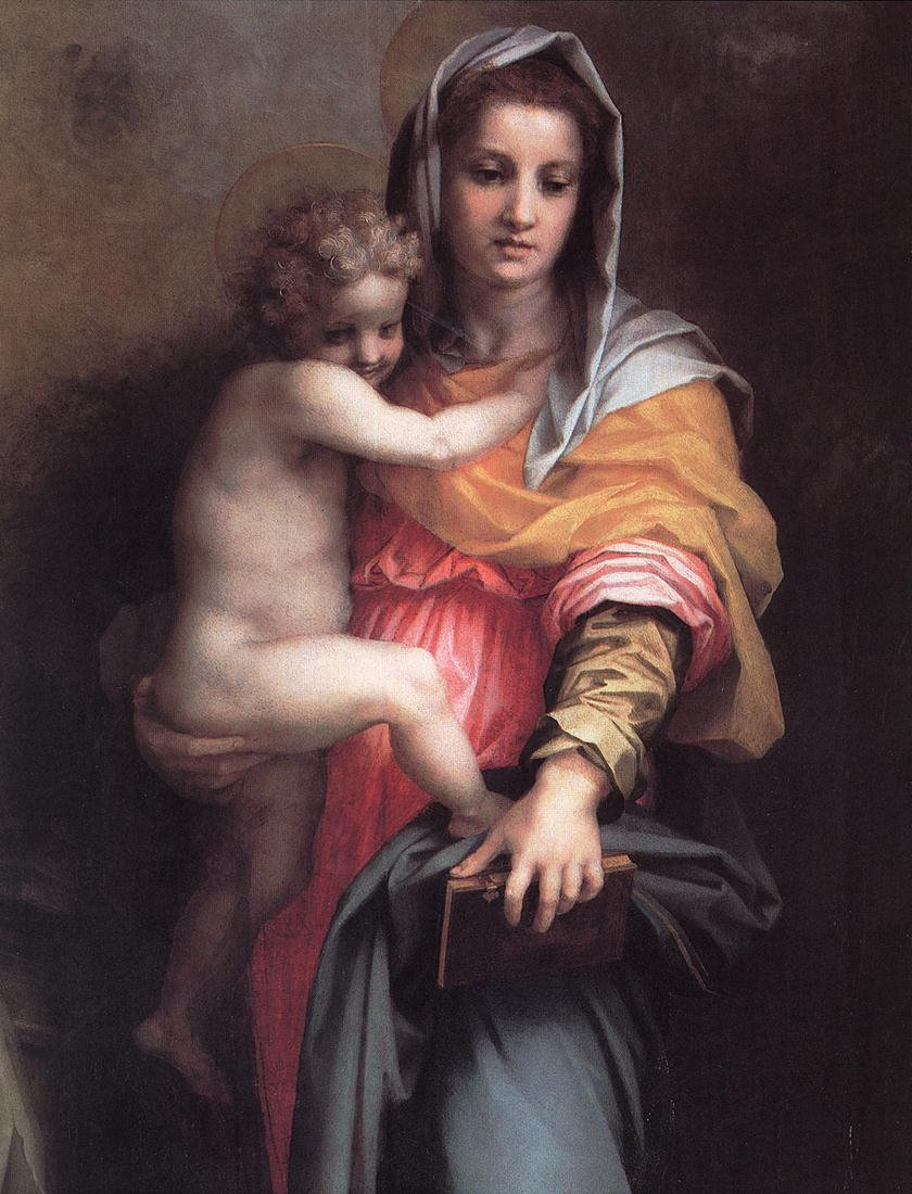 Andrea del Sarto - Madonna of the Harpies (detail) - WGA00371.jpg