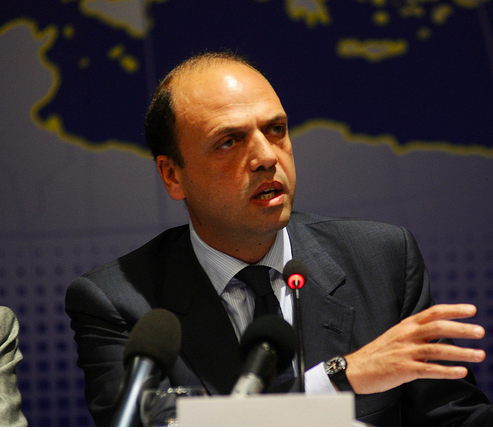 Angelino Alfano at the EPP Study Days in Palermo, 2011.