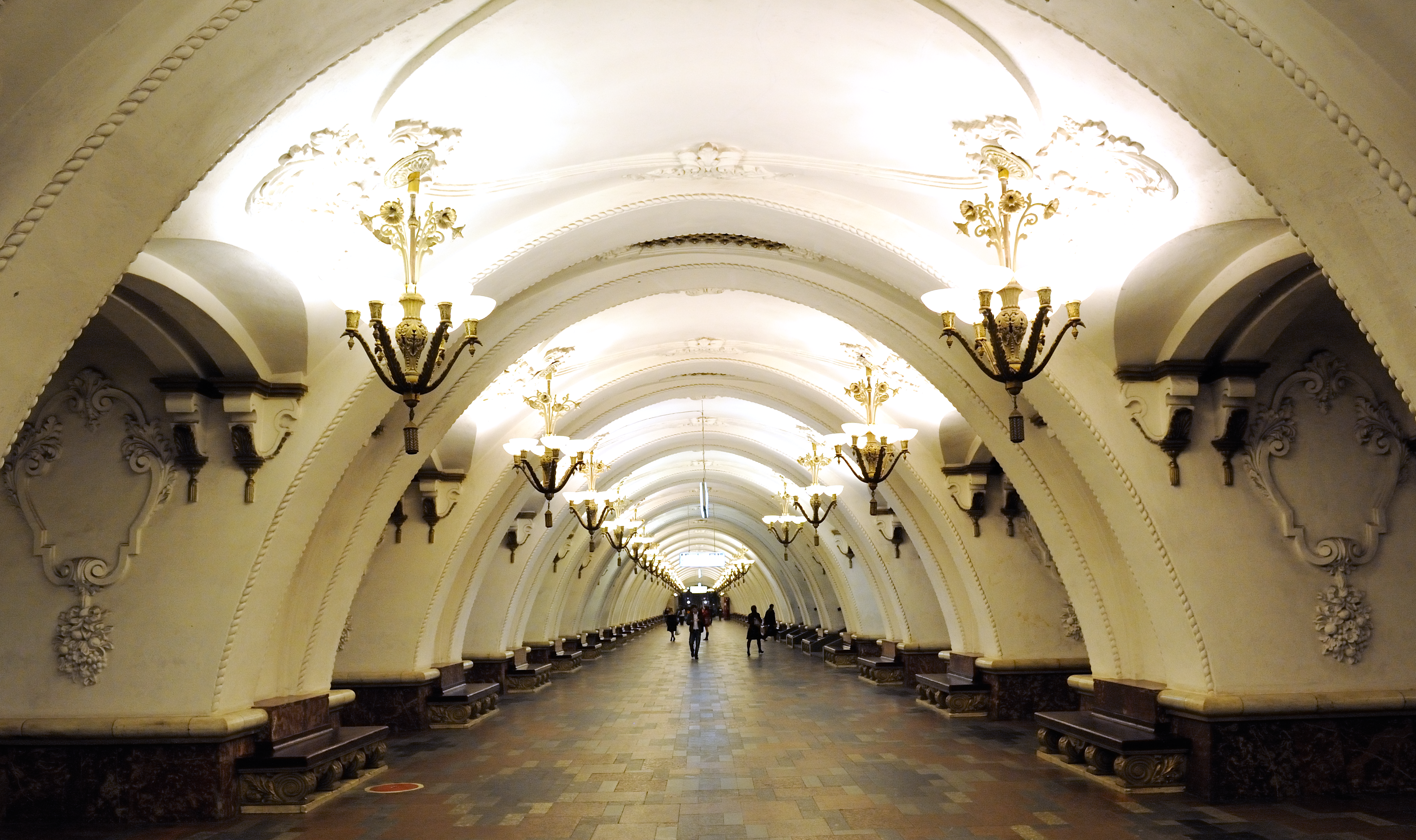 Is there the October station in Moscow 76