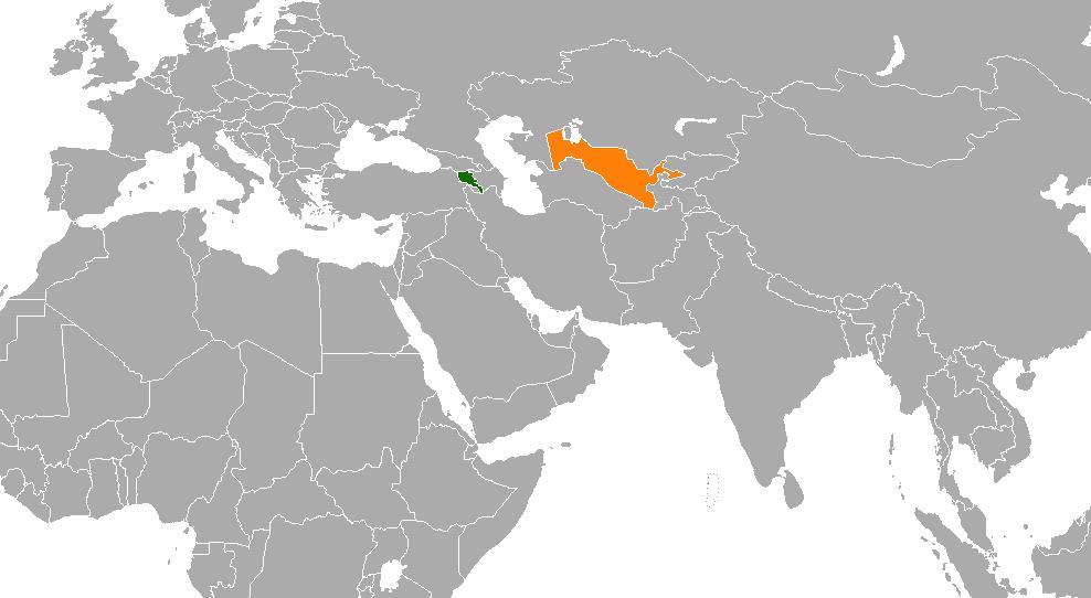 Armenia–Uzbekistan relations - Wikipedia