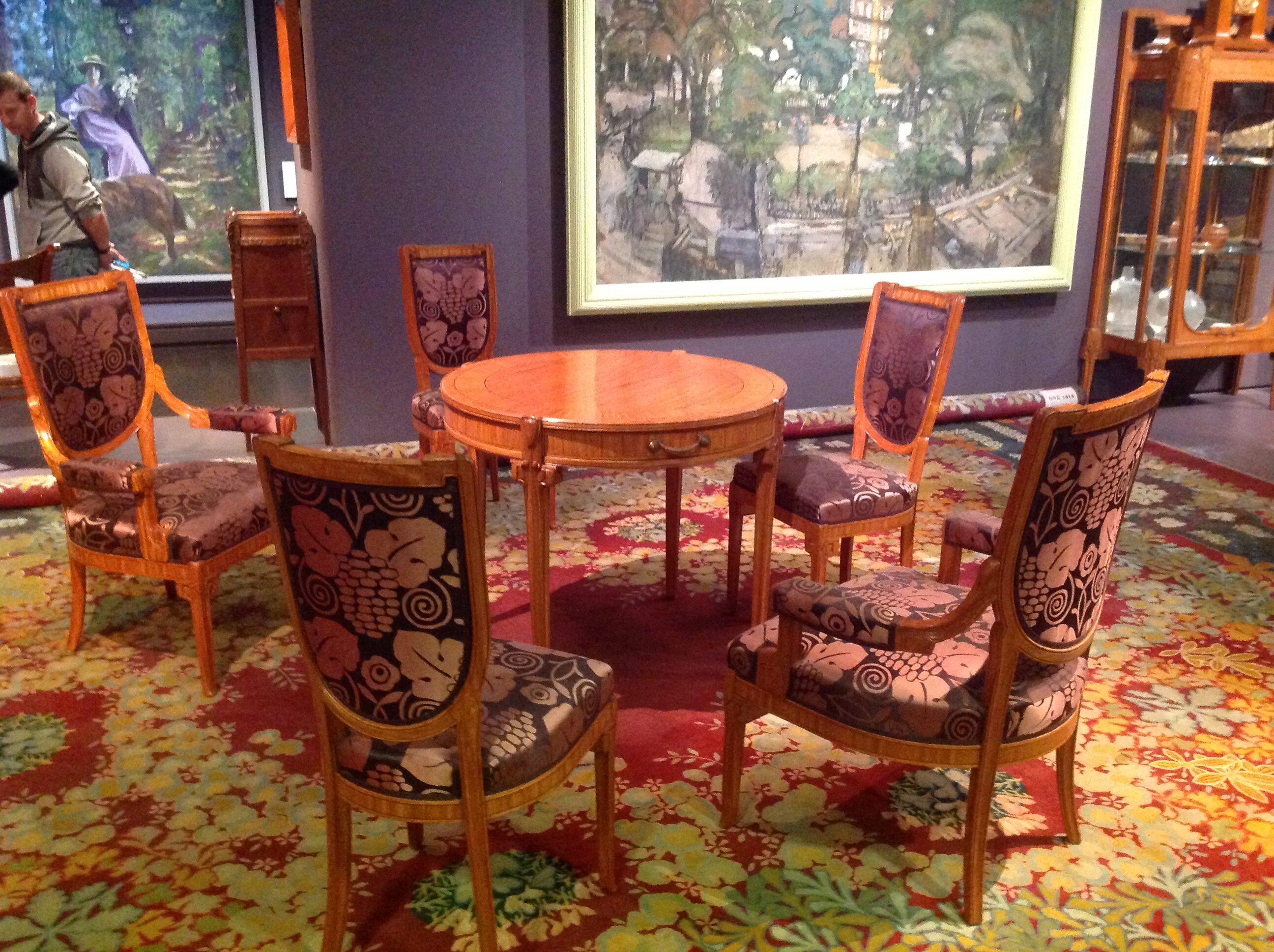 File Art Deco Table Chairs Wikimedia Commons