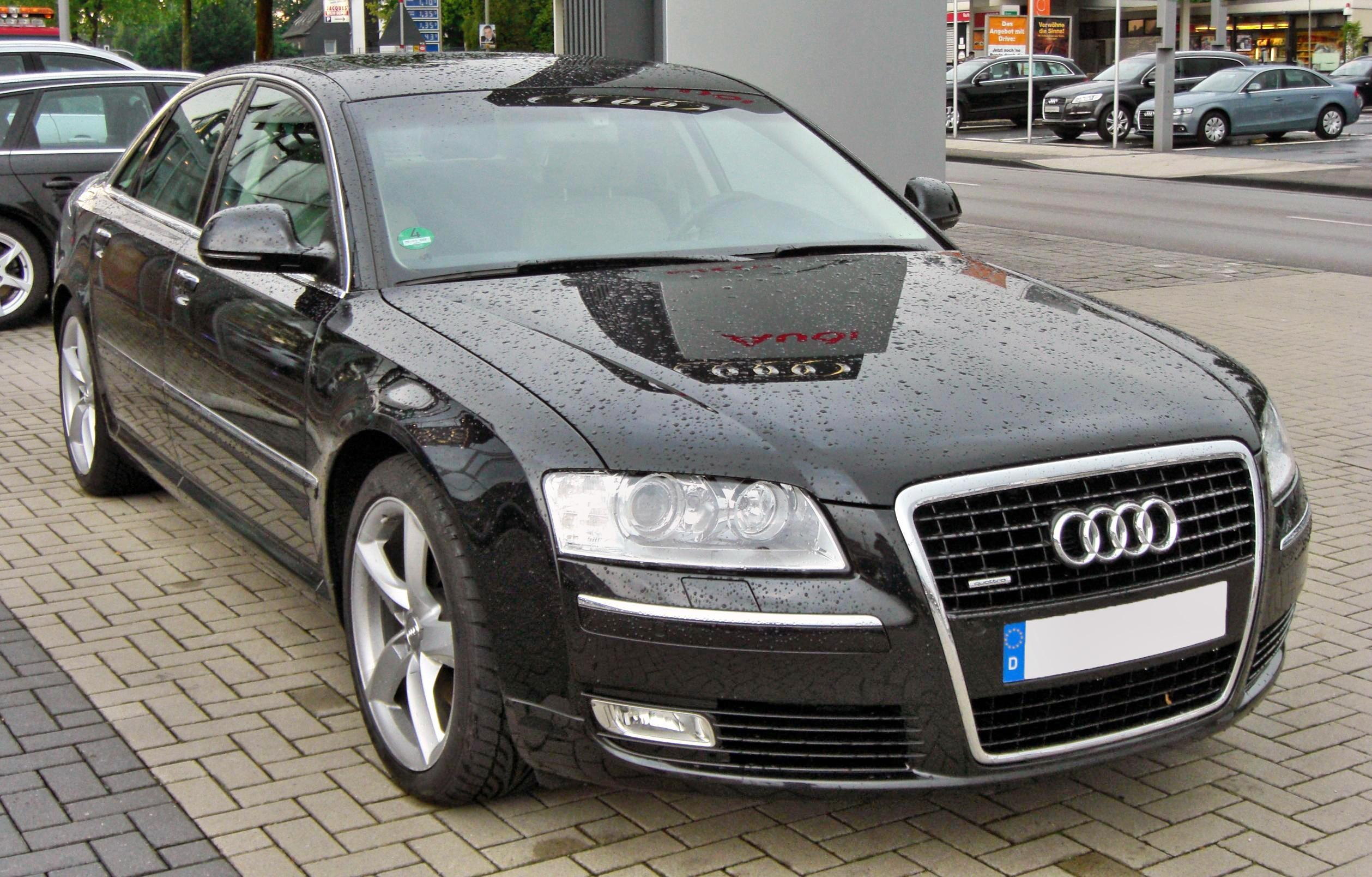 file audi a8 d3 2 facelift 20090611 front jpg wikimedia commons. Black Bedroom Furniture Sets. Home Design Ideas