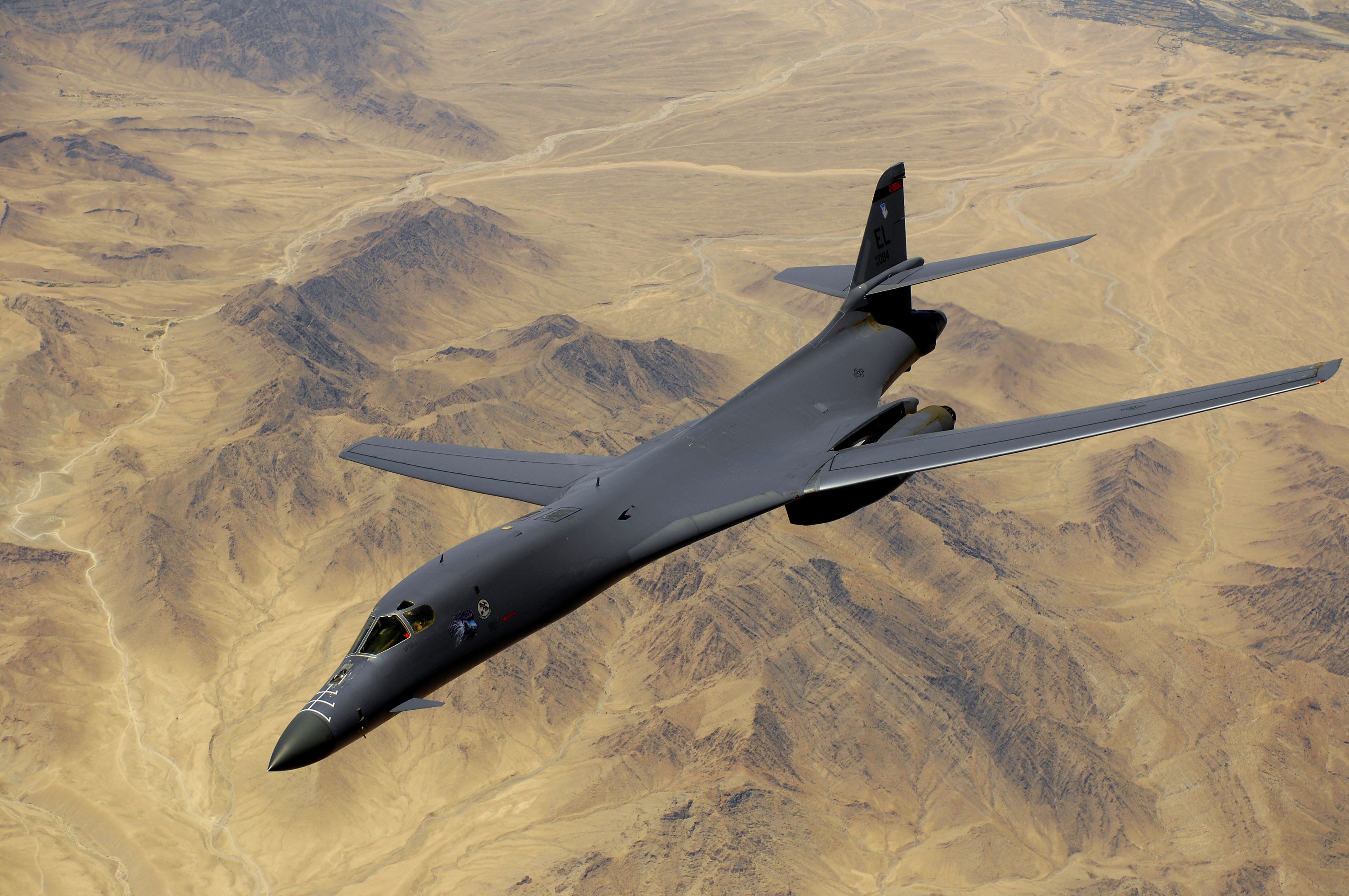 MILITARY AIRCRAFTS: B-1B Lancer B1 Lancer Supersonic