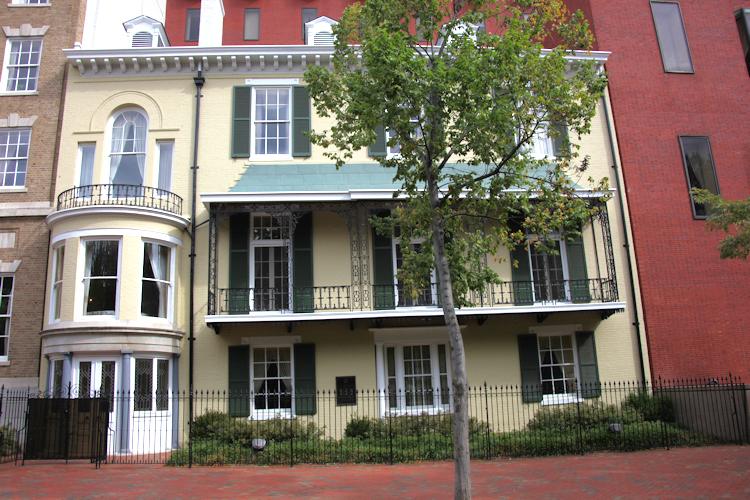Description Benjamin Ogle Tayloe House - front view - 2009.jpg