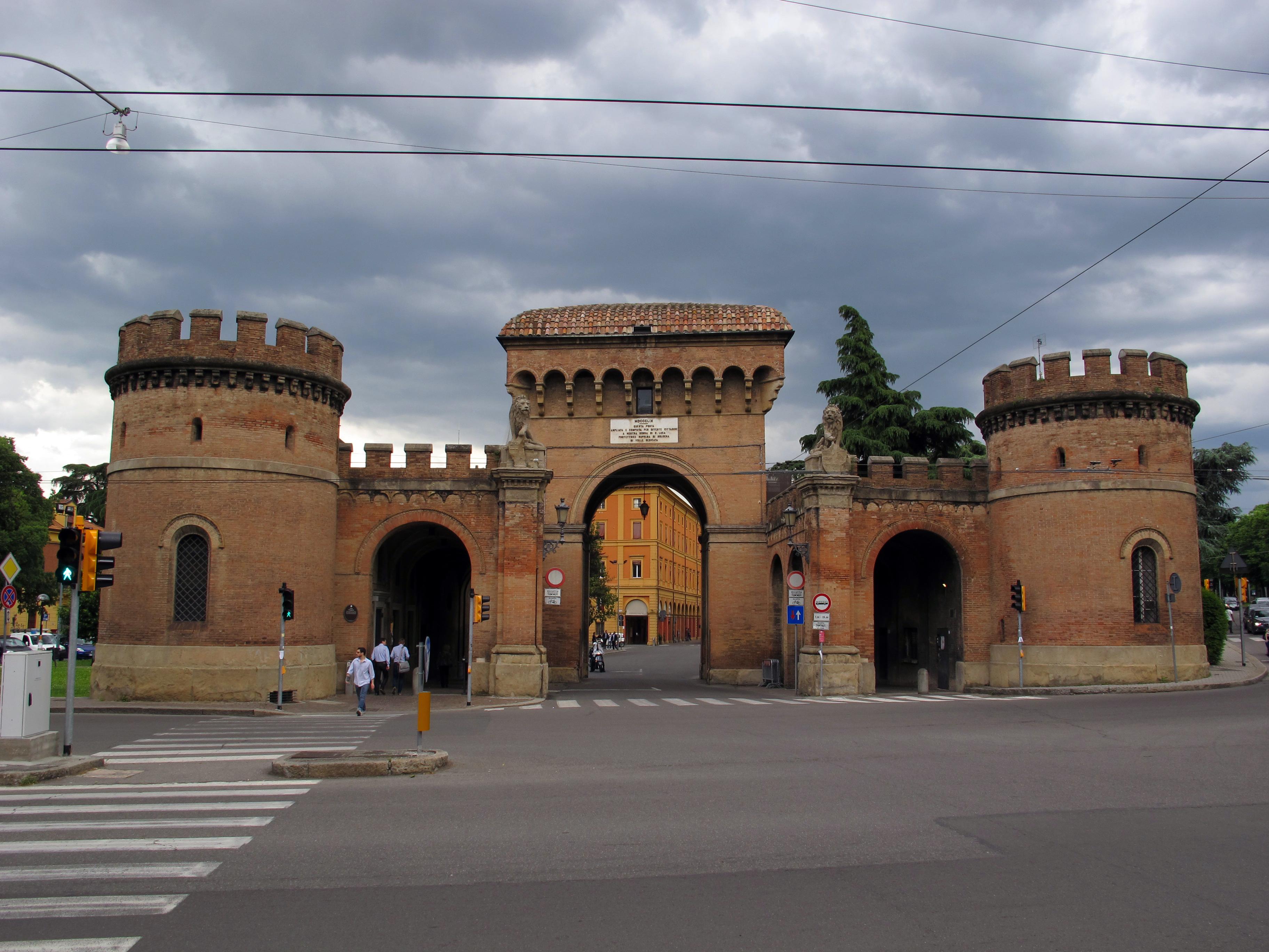 Porta Saragozza, Bologna - Wikipedia