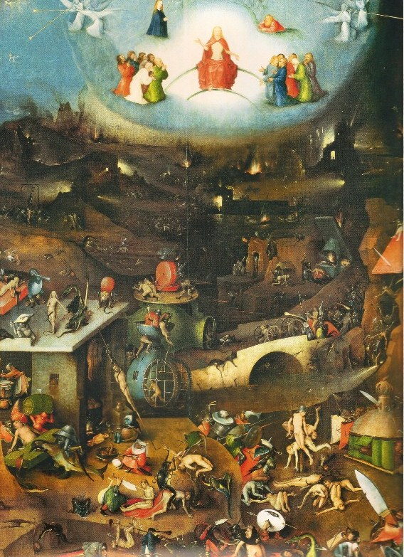 Famous Hieronymus Bosch Painting With Scissors Ears