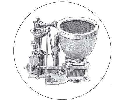 Joseph Bramah's improved version was the first practical flush toilet. Bramah water closet.jpg