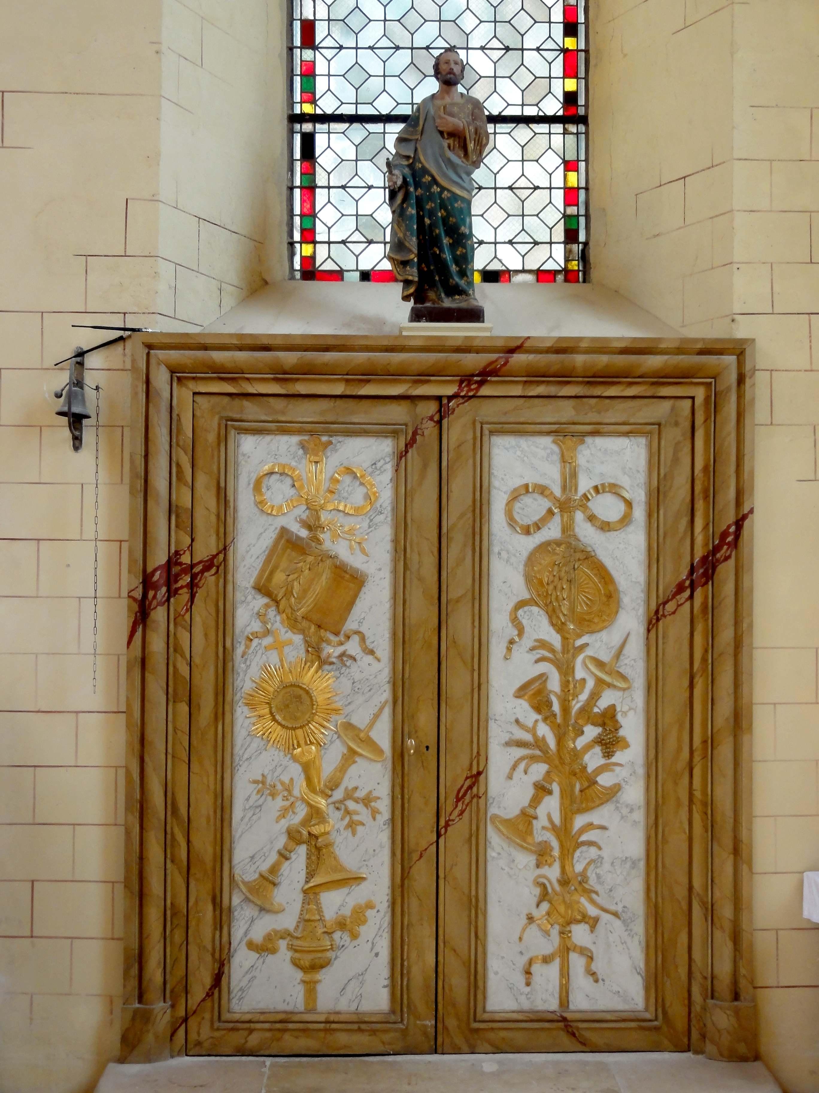 file brie comte robert 77 glise saint tienne bas c t sud chevet porte de la sacristie. Black Bedroom Furniture Sets. Home Design Ideas