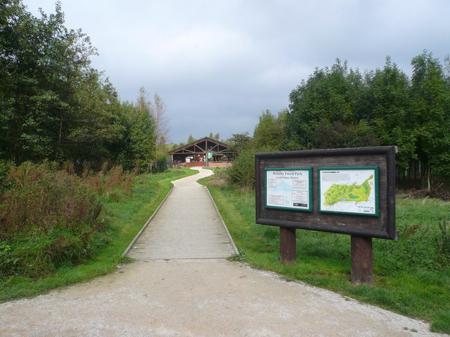 Brierley Forest Park - Visitor Centre - geograph.org.uk - 573893