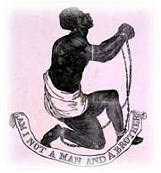 An antislavery medallion of the early 19th century.