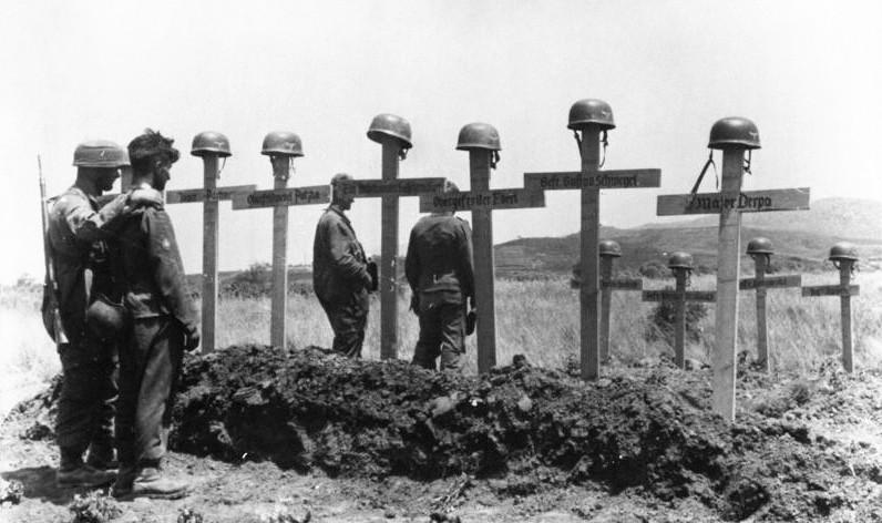 tumbas alemanas Creta 1941