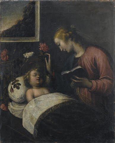 Madonna col bambino di Orsola Maddalena Caccia