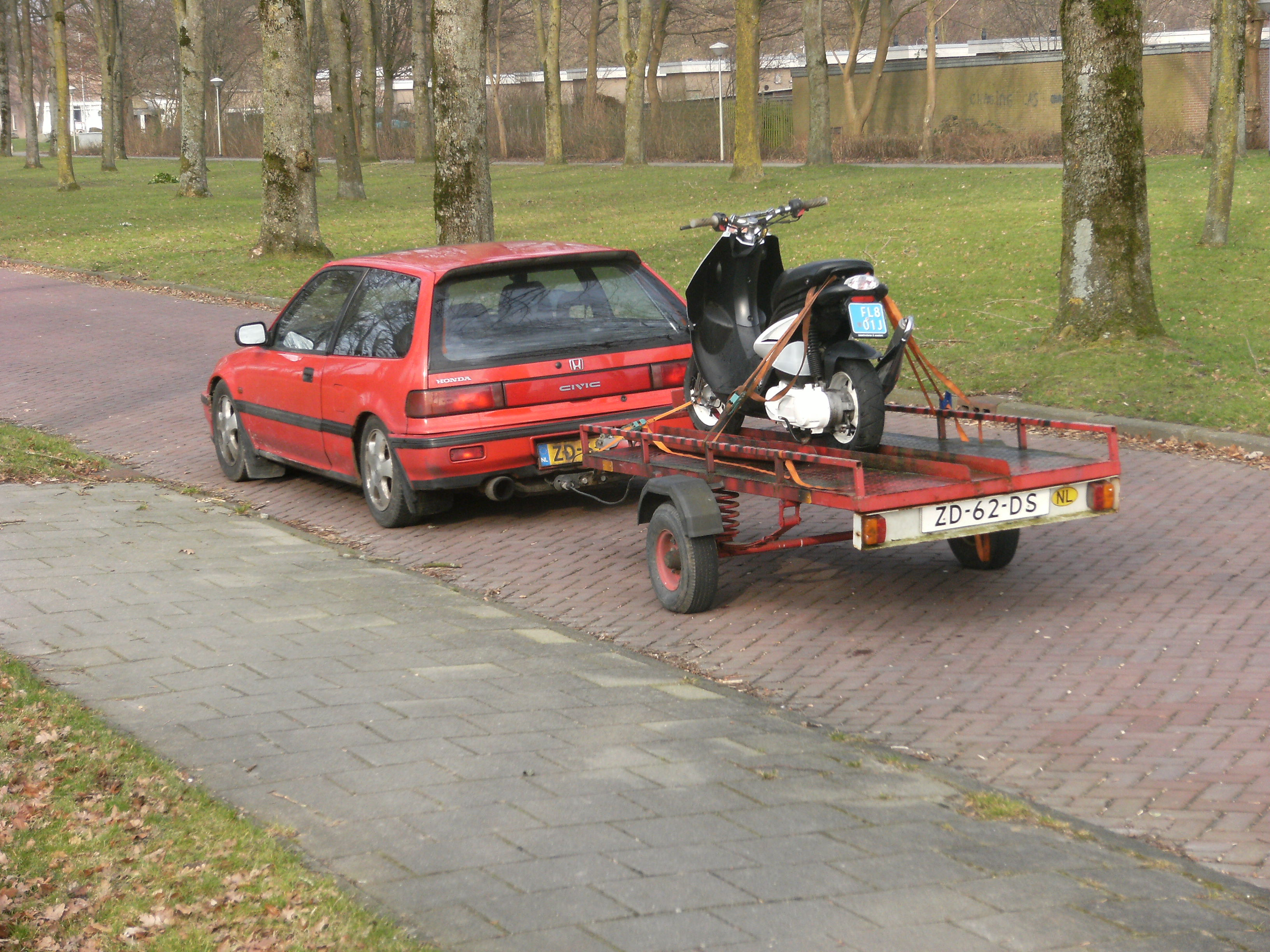 File:Car and trailer with motorbike Nagele.JPG - Wikimedia Commons
