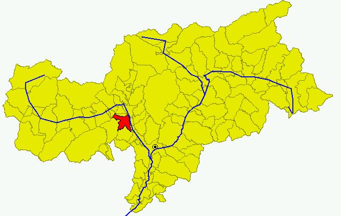 File:Cartina Comune BZ Lana.png