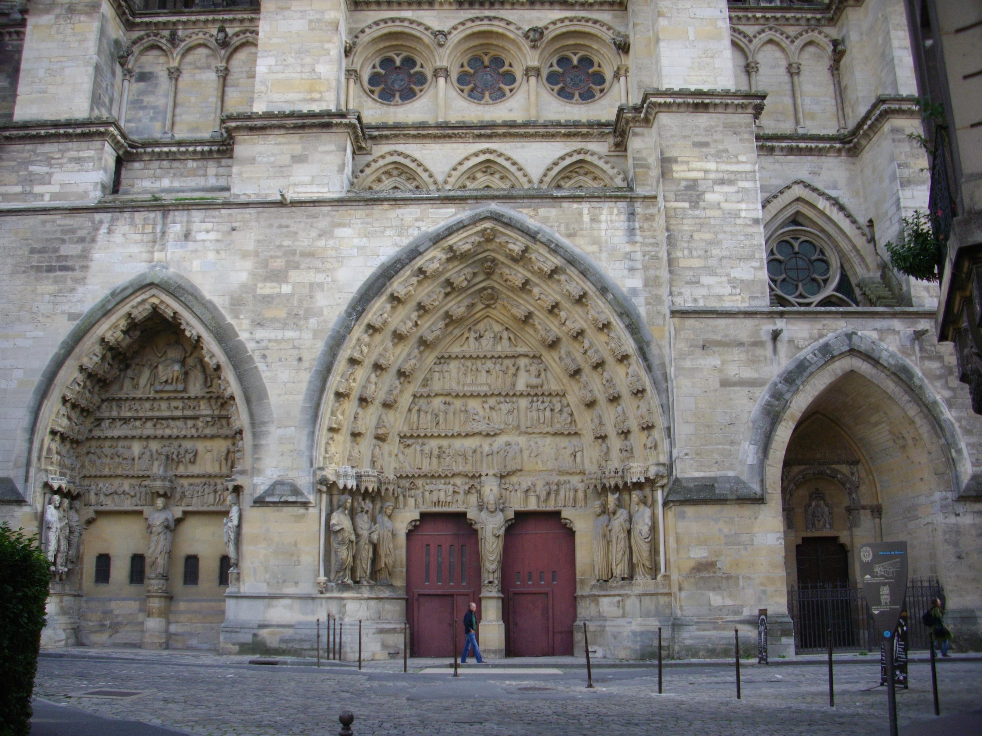 file cath u00e9drale nd de reims - transept nord  4  jpg