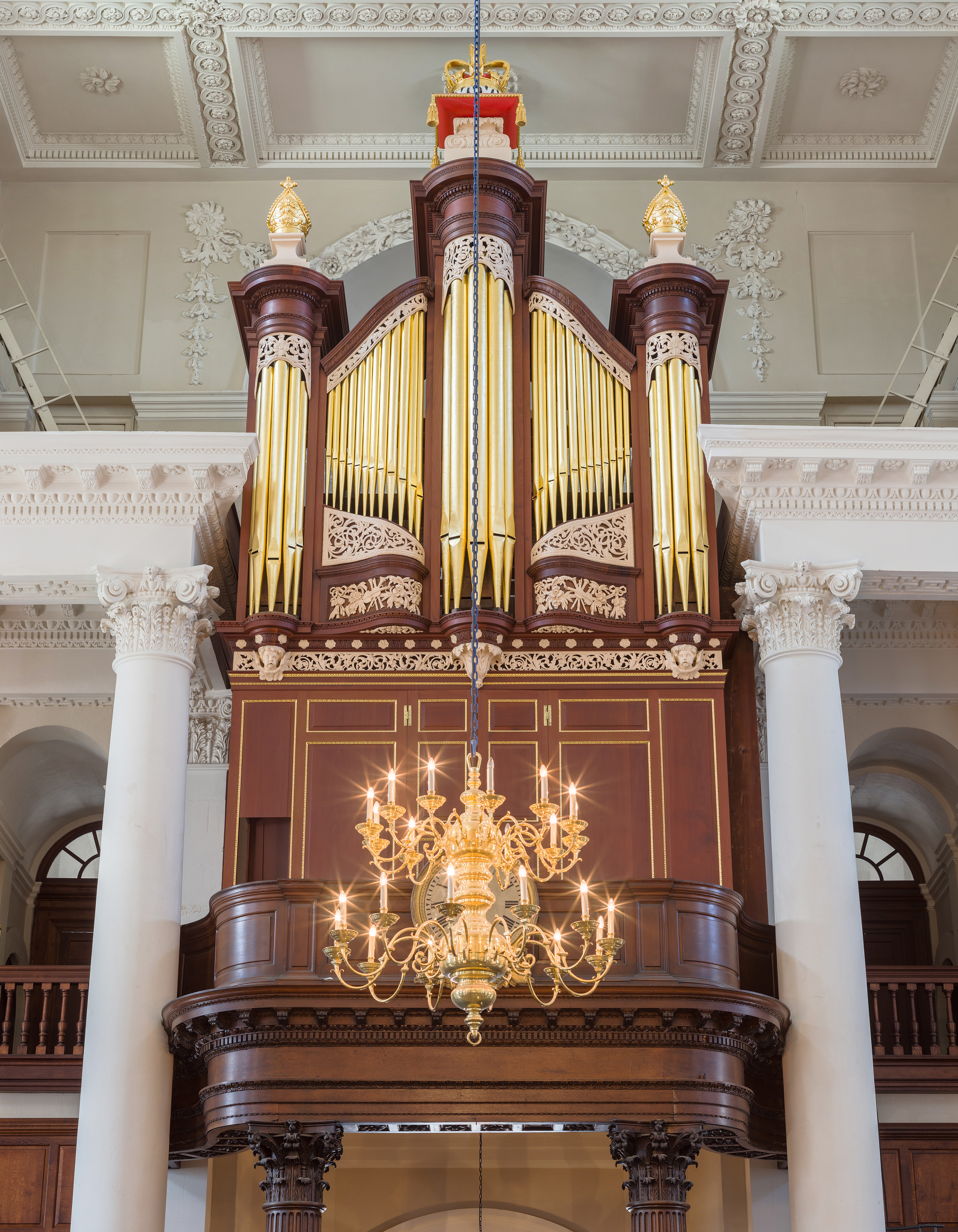 Spitalfields London: File:Christ Church, Spitalfields Organ, London, UK
