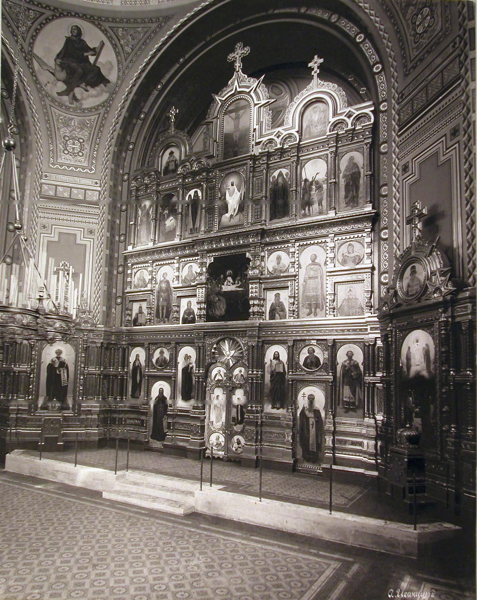 Filechrist The Savior Cathedral In Borki Interior View 3