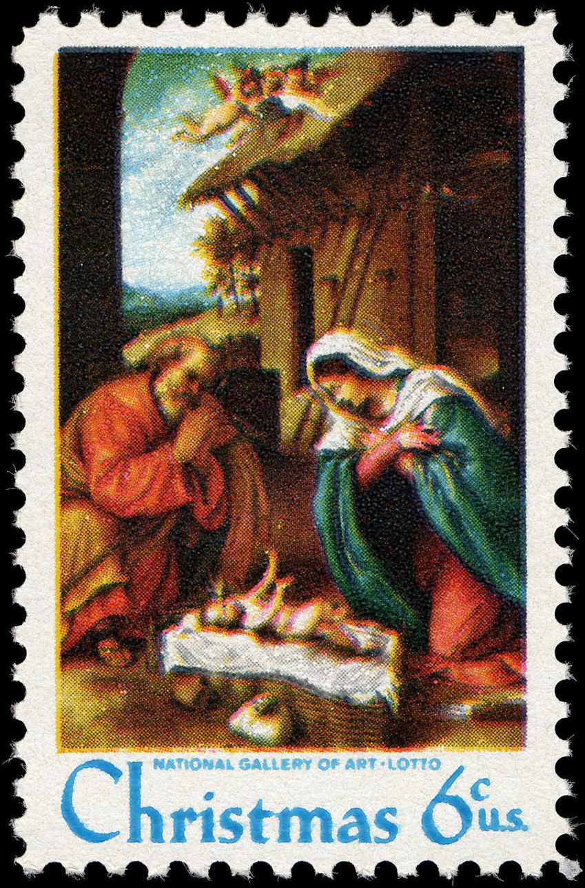 Us Christmas Stamps 2021 File Christmas Lotto Nativity 6c 1970 Issue U S Stamp Jpg Wikimedia Commons