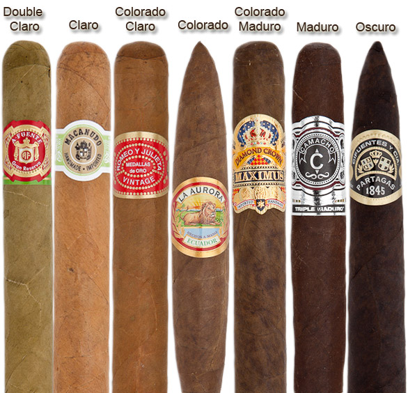 different cigars