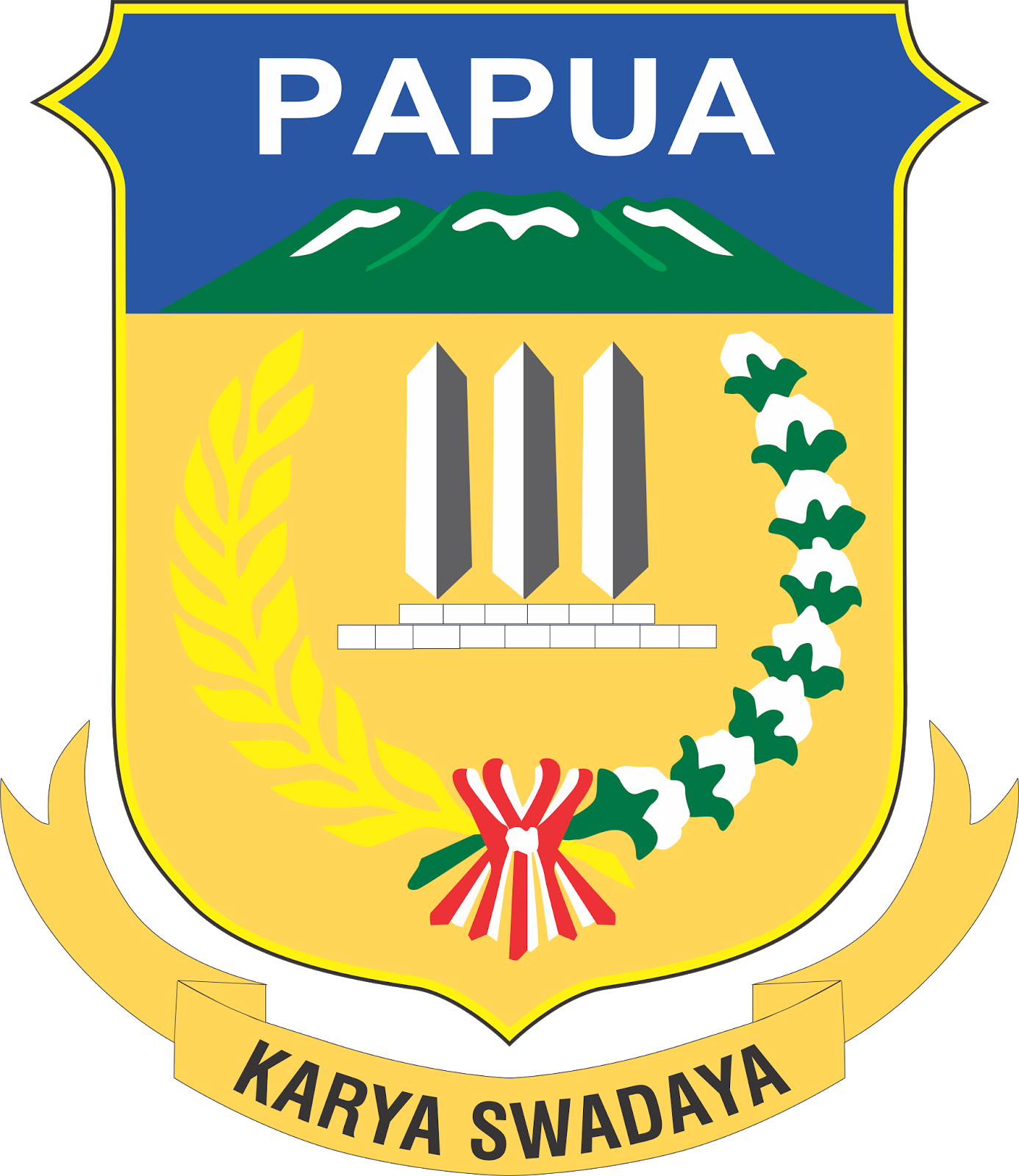 Paypay:Coat of arms of Papua.png